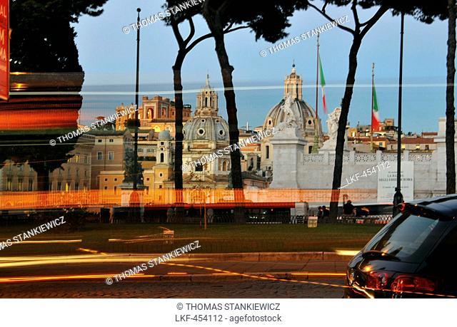 Santa Maria Loreto at Piazza Venezia, Rome, Italy