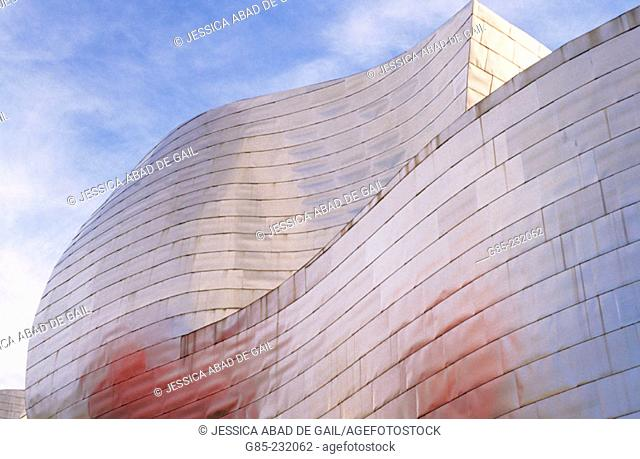 Museum Guggenheim, by Frank O. Gehry. Bilbao. Biscay. Spain