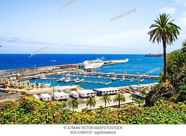 marina in Santa Cruz de la Palma municipaliy