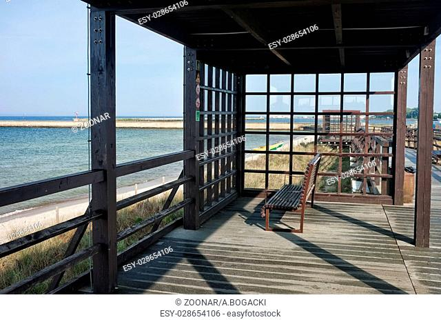 Coastal Boardwalk Pergola in Hel