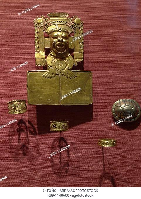 Zapoteca jewels, Anthropology National Museum, Mexico City