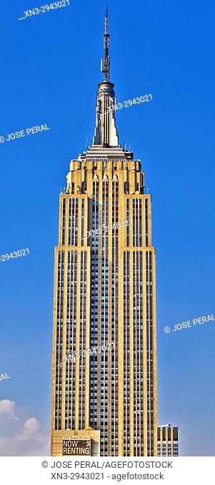 Empire State Building, Midtown, Manhattan, New York City, New York USA