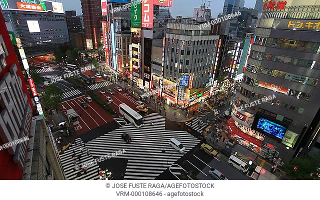 Japan , Tokyo City , Shinjuku District, Shinjuku Avenue
