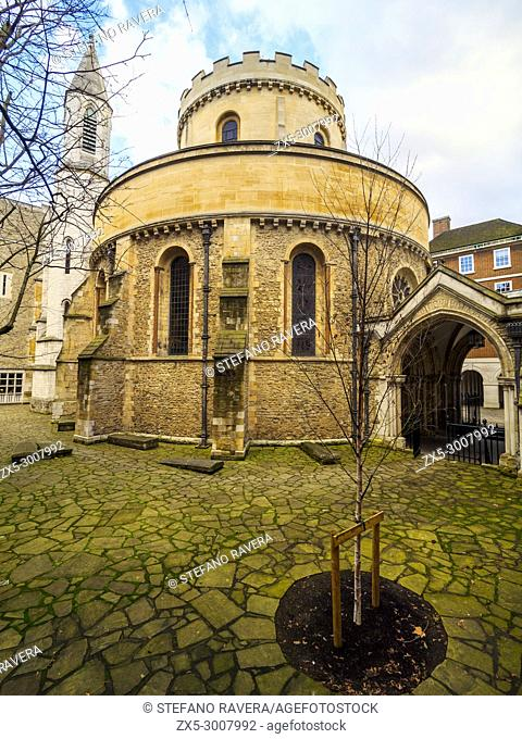 Temple Church, late 12th-century church in the City of London located between Fleet Street and the River Thames, built by the Knights Templar as their English...