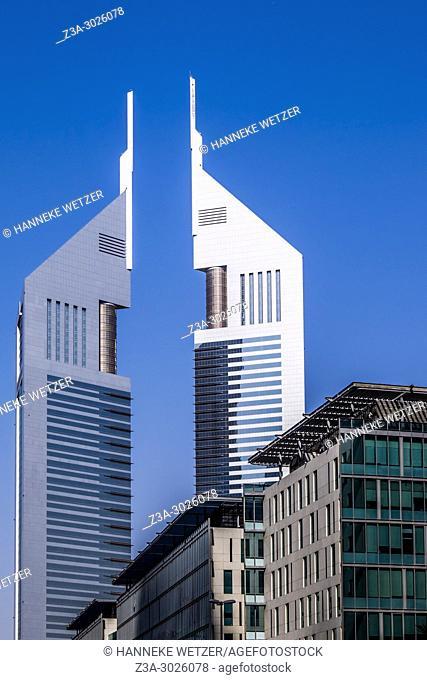 Jumeirah Emirates Towers at the WTC in Dubai, UAE
