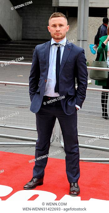 'Jawbone' film premiere at BFI Southbank in London - Arrivals Featuring: Carl Frampton Where: London, United Kingdom When: 08 May 2017 Credit: WENN