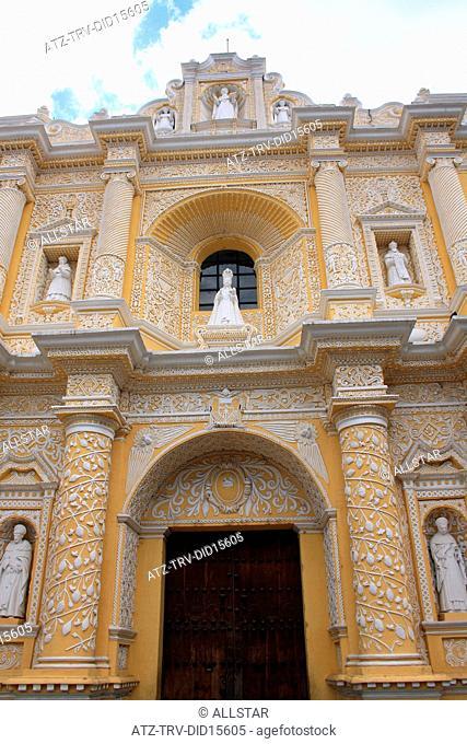 IGLESIA Y CONVENTO DE NUESTRA SENORA DE LA MERCED; ANTIGUA, GUATEMALA; 22/02/2011