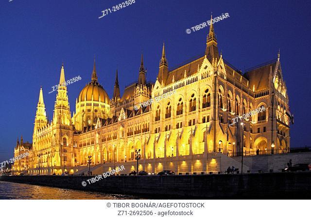 Hungary, Budapest, Parliament, Országház,
