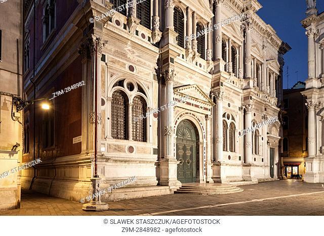 Scuola Grande di San Rocco, sestiere of San Polo, Venice, Italy