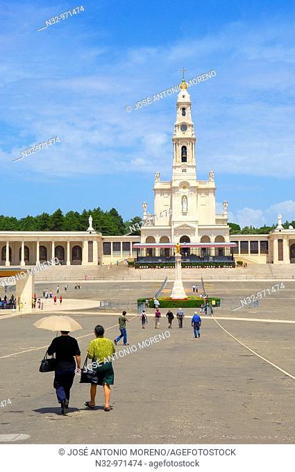 Sanctuary of Our Lady of Fatima, Fatima, Santarem district, Portugal