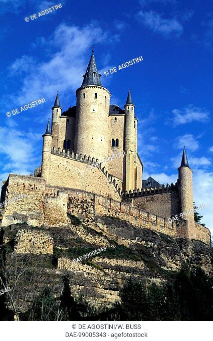 The Alcazar of Segovia (UNESCO World Heritage List, 1985), Castile and Leon. Spain, 11th-19th century