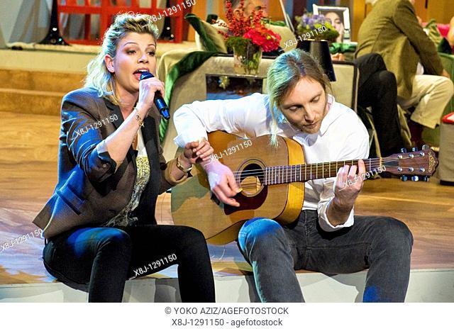 Emma Marrone, Kalispera telecast, Canale 5, Milan, Italy, 2010