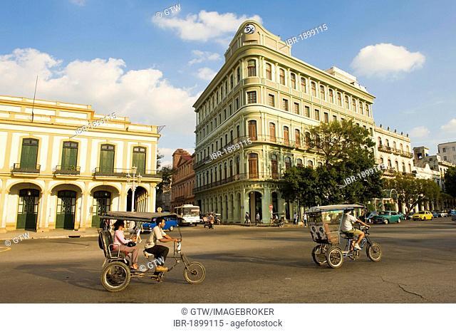 Old buildings, Old Havana, Unesco World Heritage Site, Cuba