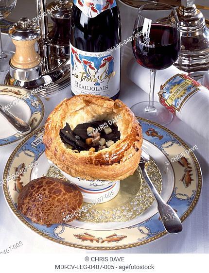 Soup with black truffles - Paul Bocuse - Collonges au Mont d'Or restaurant - Rhône - France
