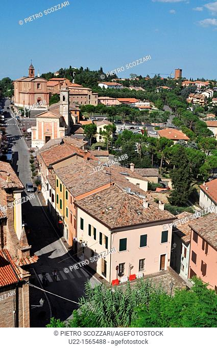 Longiano (Forlì-Cesena, Italy): view of the town