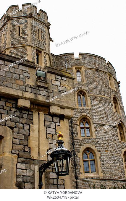 Windsor Castle near London, UK