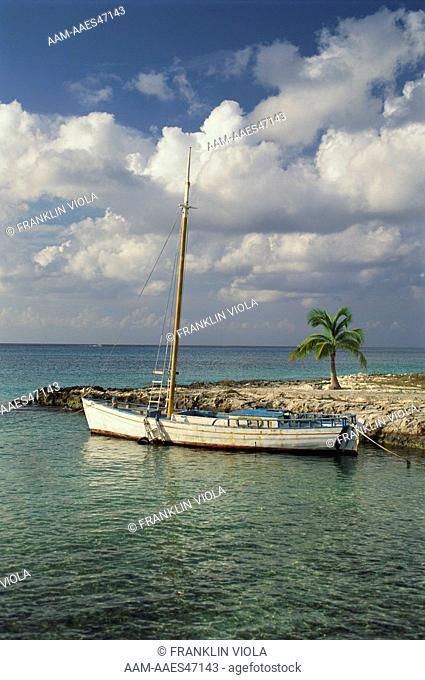 Mexican Fishing Boat, Cozumel, Mexico