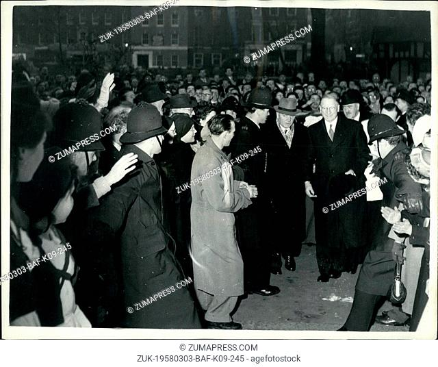 Mar. 03, 1958 - IRA Men Fight Police As Eire's Premier Attends Mass. Irish Republican Army men fought with police in Soho as Mr
