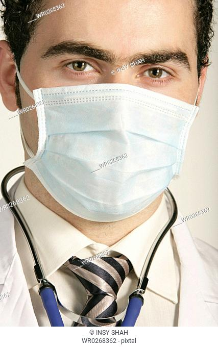 Doctor with a mask