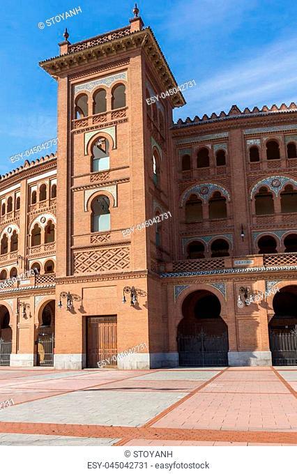 Las Ventas Bullring (Plaza de Toros de Las Ventas) in City of Madrid, Spain