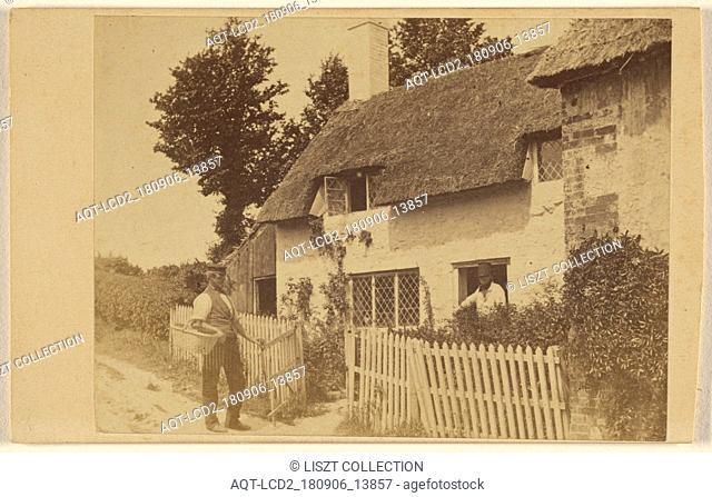 Little Jones Cottage. Leigh Richmond's story; Symonds & Wheeler; about 1865; Albumen silver print