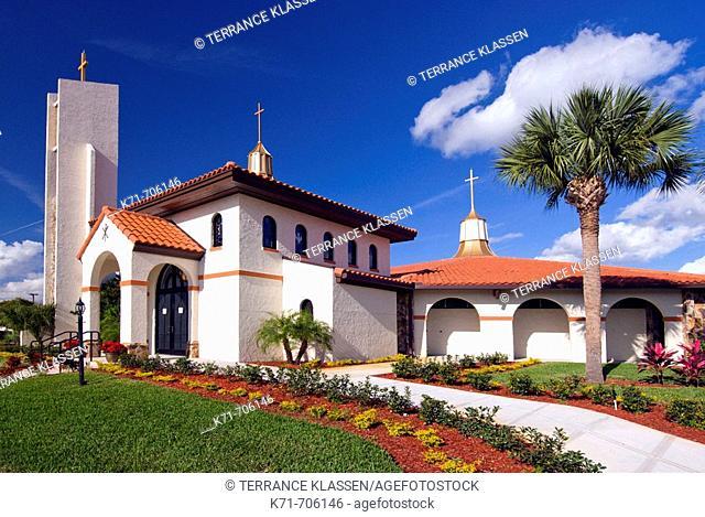 St. Thomas Aquinas Catholic Church in St. Cloud near Kissimmee, Florida, USA, 2008