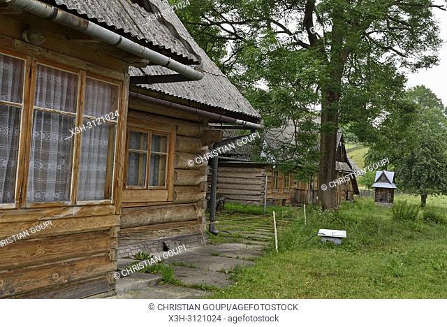 village of Chocholow, Podhale region, Malopolska Province (Lesser Poland), Poland, Central Europe