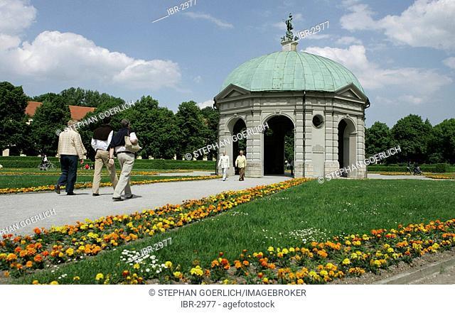 Munich, GER, 01. Jun. 2005 - Temple of Diana in the Munich Hofgarten