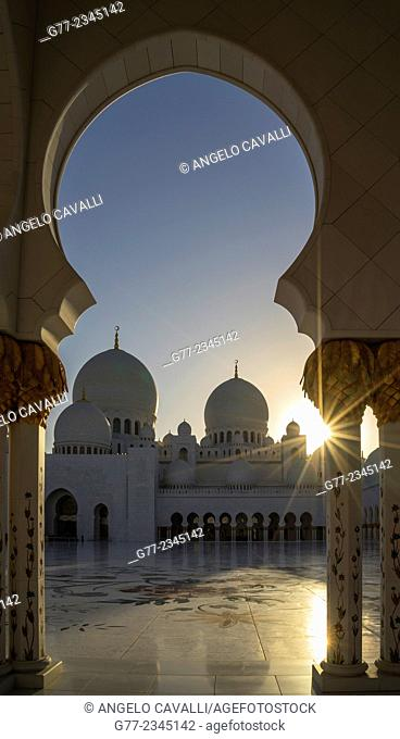 Sheikh Zayed Great Mosque, Abu Dhabi, United Arab Emirates