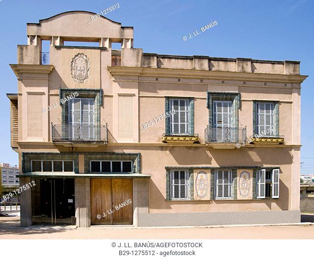 Art Nouveau building. Girona, Catalonia, Spain