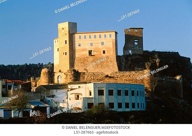 Castle, Cofrentes. Valencia province, Spain