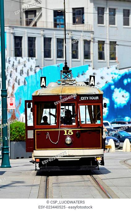 Christchurch Tramway tram system - New Zealand