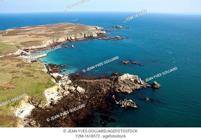 Ouessant island, Iroise Sea, Finistere, Brittany, France