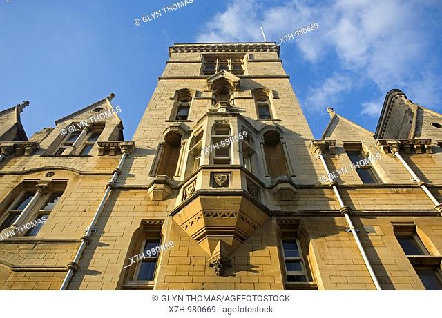 Balliol College, Oxford University, England, UK