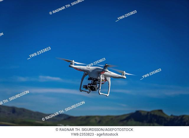 DJI Phantom 2 Vision drone with a Gopro hero 3 camera