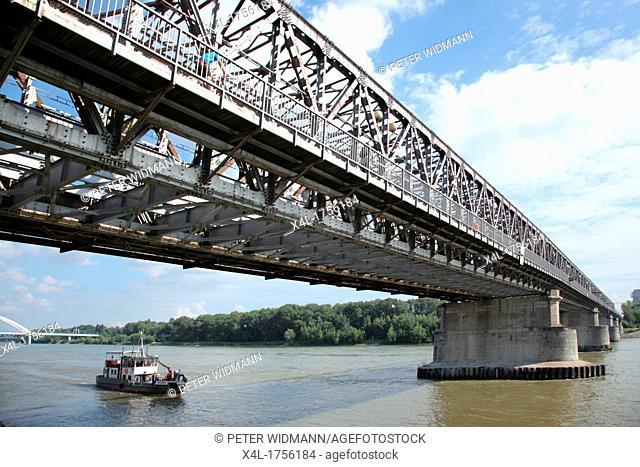 Old Bridge in Bratislava, Slovakia