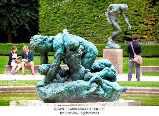 Ugolin, sculpture by Auguste Rodin. Rodin Museum. Paris. France