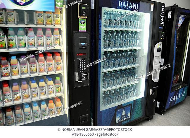 Vending machines at a rec center
