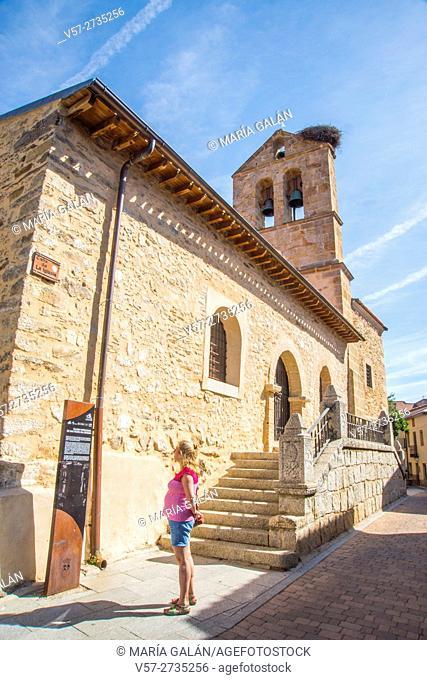 San Pedro en Catedra church. Montejo de la Sierra, Madrid province, Spain