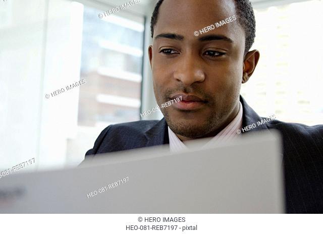 business man doing business