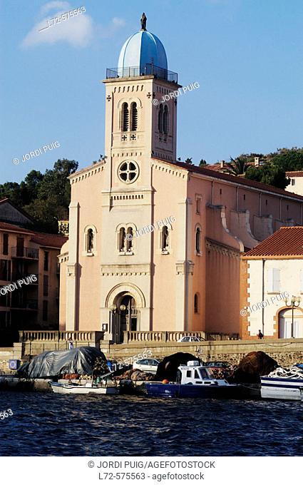 Port-Vendres. Côte Vermeille. Pyrénées-Orientales. Languedoc-Roussillon, France