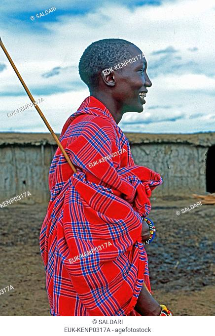 Maasai Portrait,Kenya