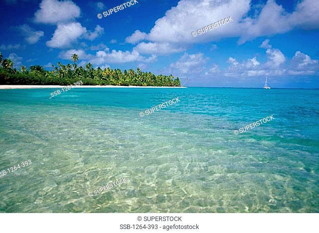 Rangiroa Atoll Tuamotus Archipelago French Polynesia