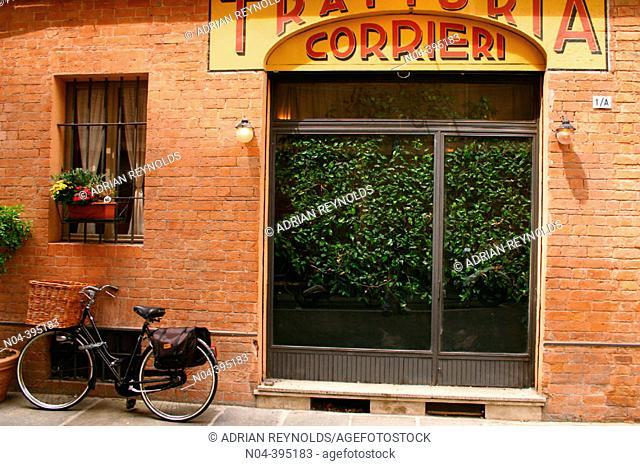 Trattoria Corrieri. Parma. Italy