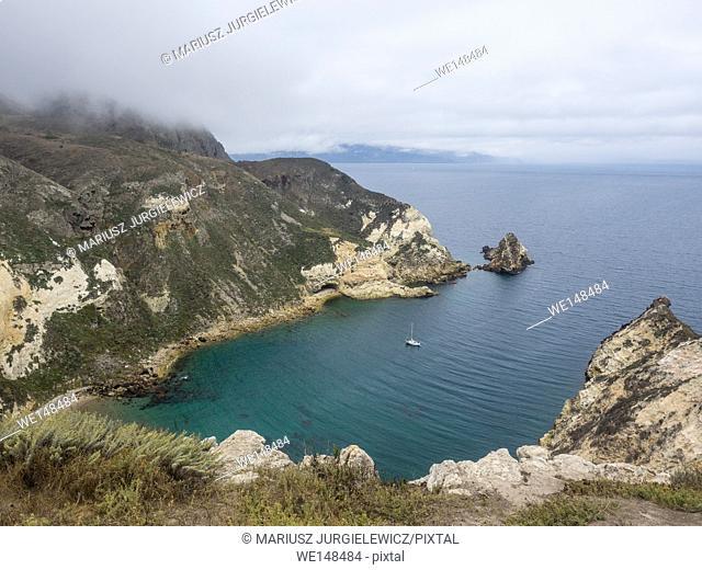 Potato Harbor on Santa Cruz Island, Channel Islands National Park
