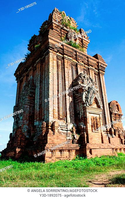 Vietnam, South Central Vietnam, Quy Nhon, view of Yit Silver Tower