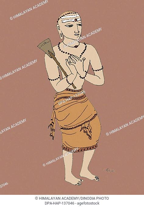 Painting of sadhu