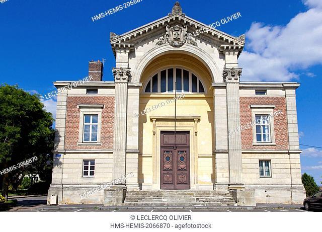 France, Aisne, Vervins, courthouse