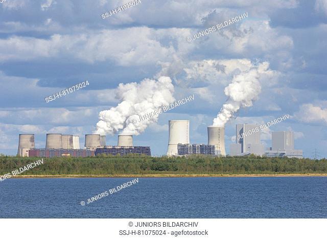 Boxberg lignite-fired power plant. Saxony, Germany