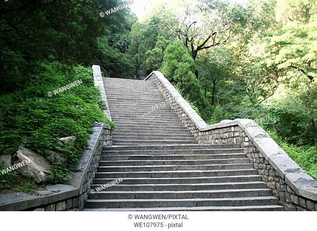 Staircase. Taishan. China